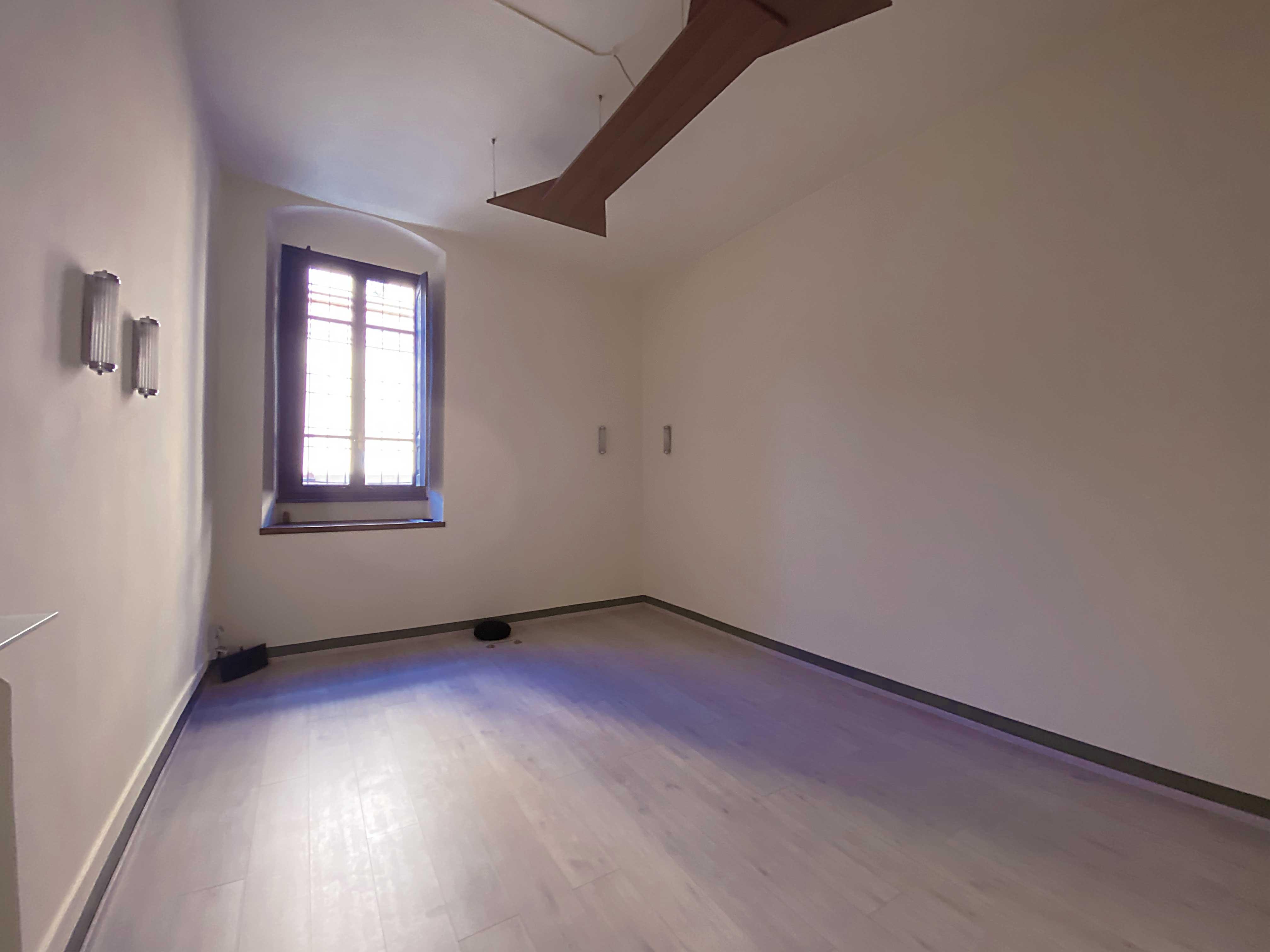 foto della sala di pratica dello studio di Cremona