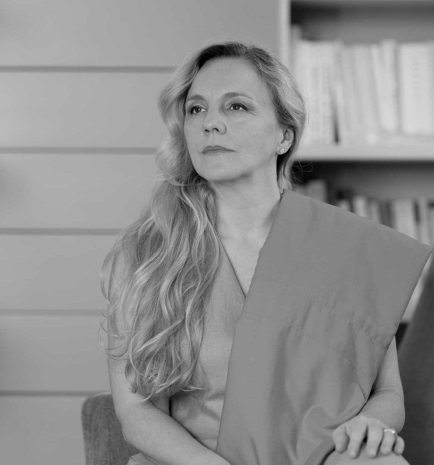 ritratto della fondatrice Teresa Sintoni