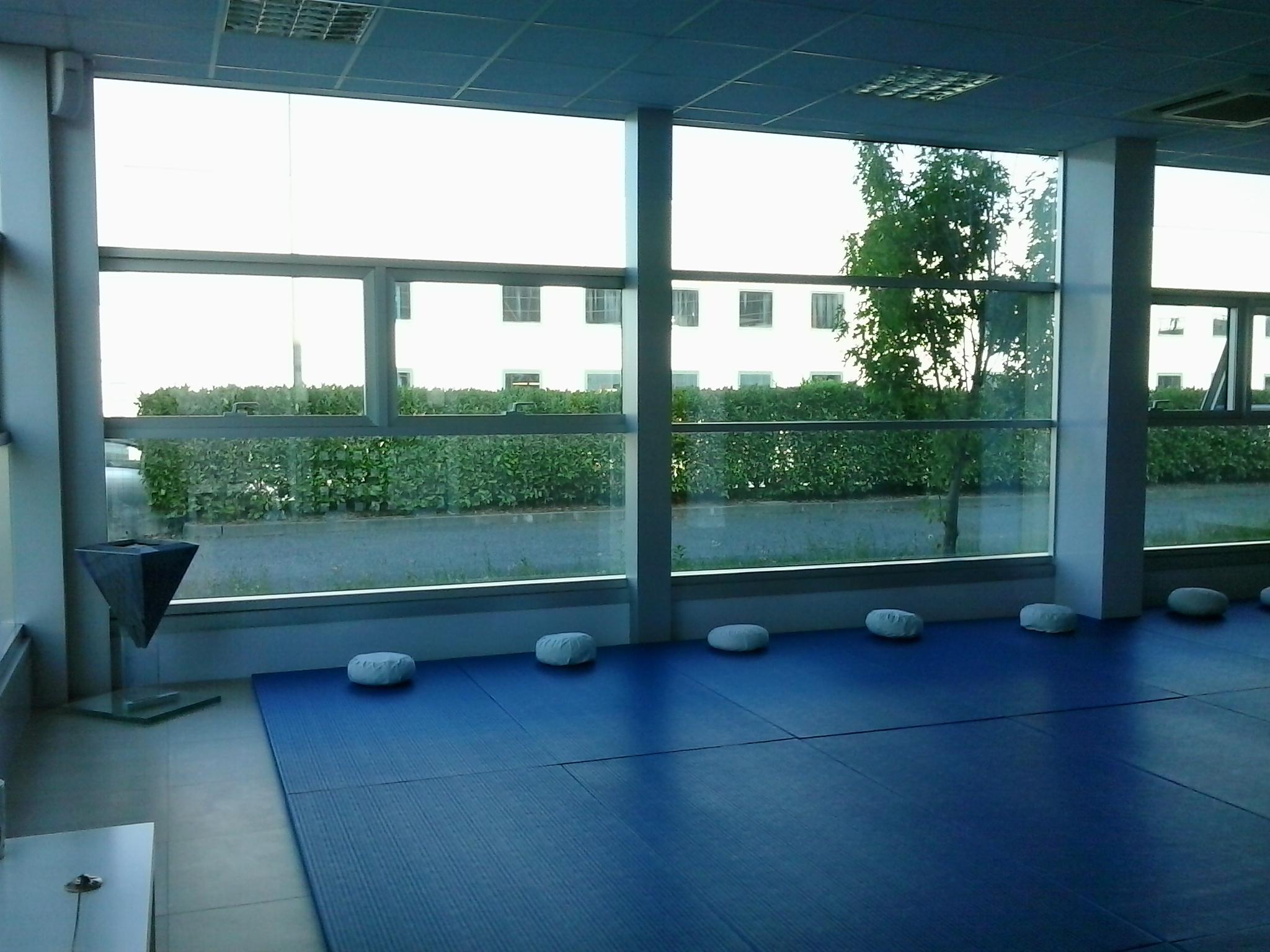 foto della sala di pratica dello studio di Crema.