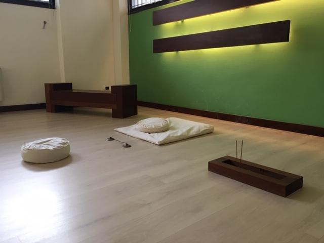 foto della sala di pratica dello studio di Verona.