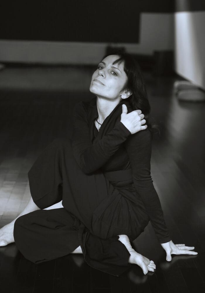 ritratto Silvia Milani istruttore di Parsifal Yoga Academy  Milano